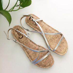 NEW Circus Sam Edelman Henley Silver Sandals